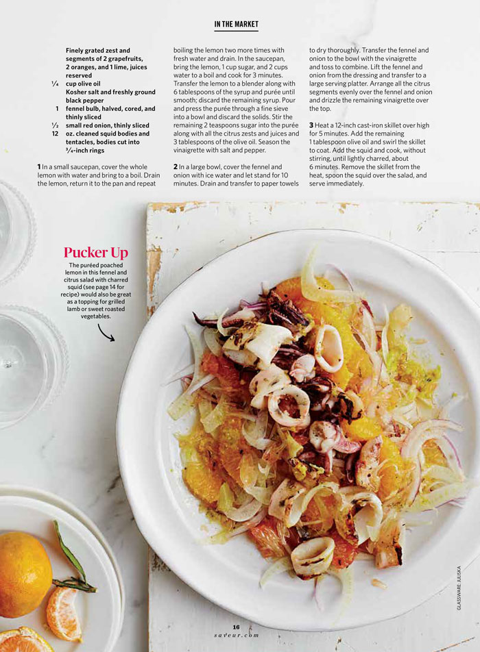 Food Styling by Mariana Velasquez
